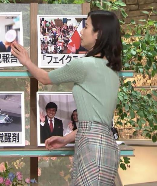 森川夕貴アナ 横乳えっろキャプ画像(エロ・アイコラ画像)
