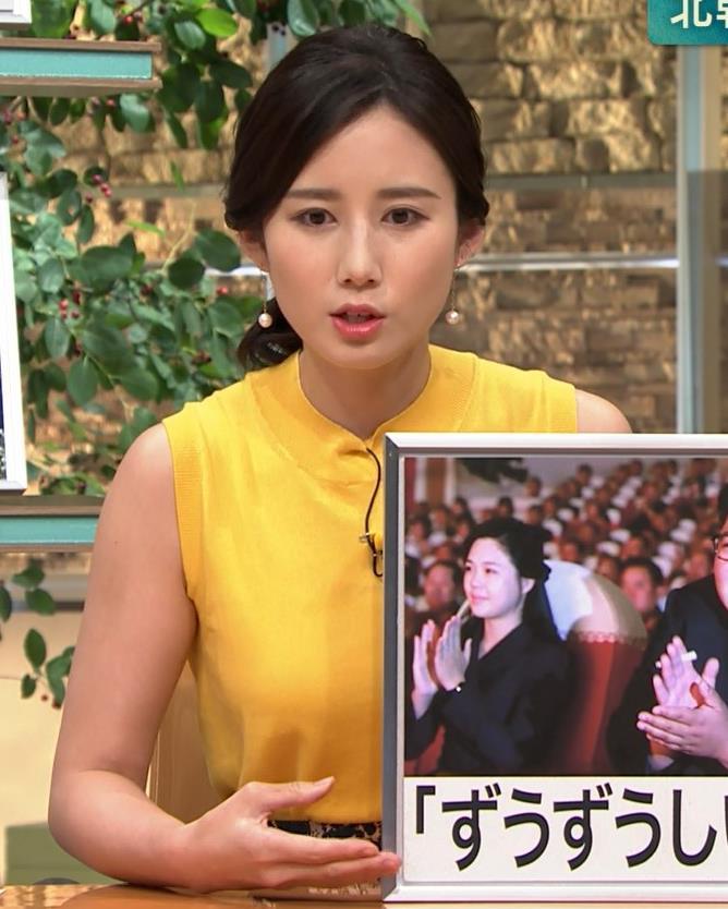 森川夕貴アナ エロいノースリーブ、インナーチラもキャプ・エロ画像5