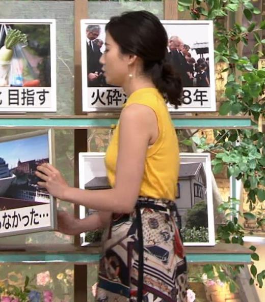 森川夕貴アナ エロいノースリーブ、インナーチラもキャプ画像(エロ・アイコラ画像)