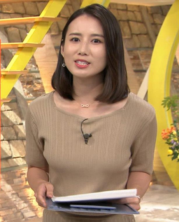 森川夕貴アナ 乳がエロいキャプ・エロ画像3