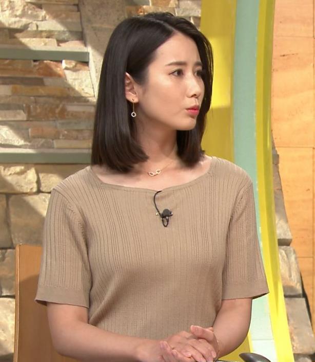 森川夕貴アナ 乳がエロいキャプ・エロ画像7