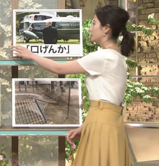 森川夕貴アナ ブラウスのおっぱいキャプ画像(エロ・アイコラ画像)