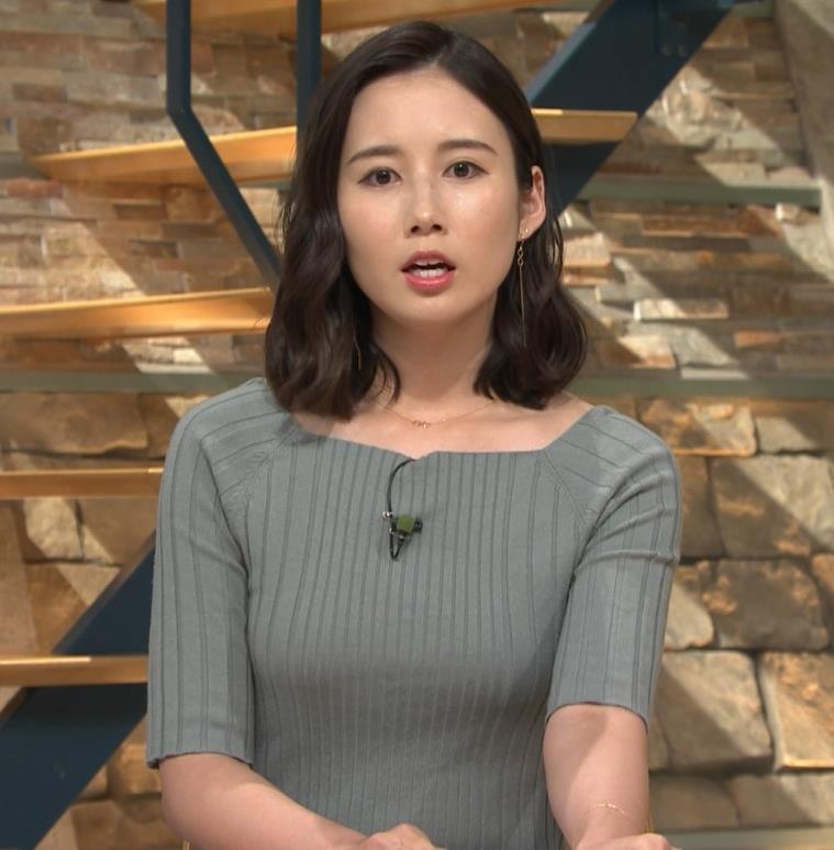 森川夕貴アナ おっぱいがエロいニットキャプ・エロ画像2