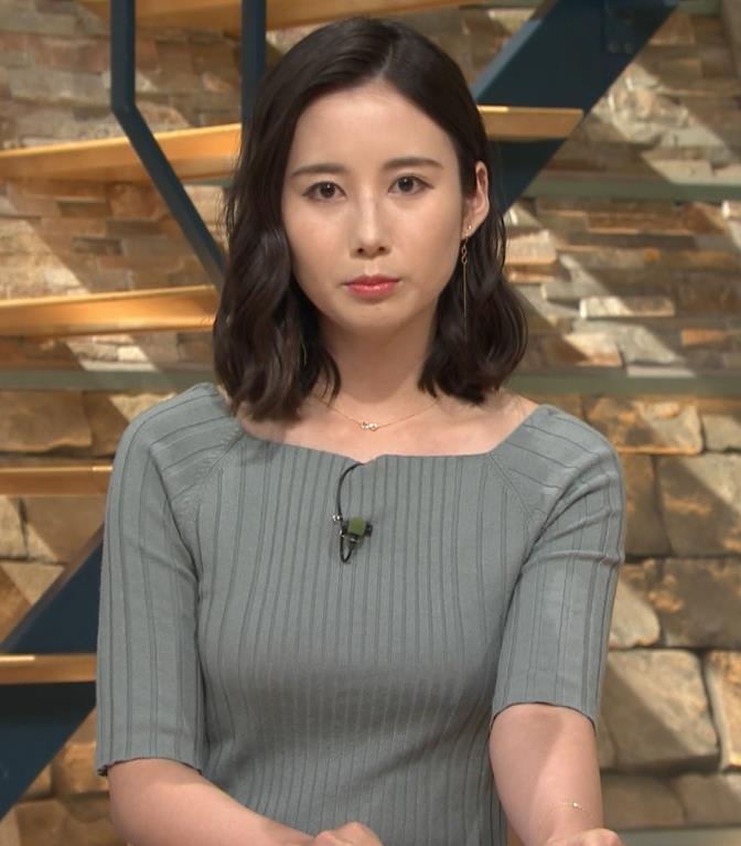 森川夕貴アナ おっぱいがエロいニットキャプ・エロ画像3