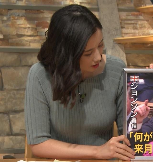 森川夕貴アナ おっぱいがエロいニットキャプ・エロ画像4