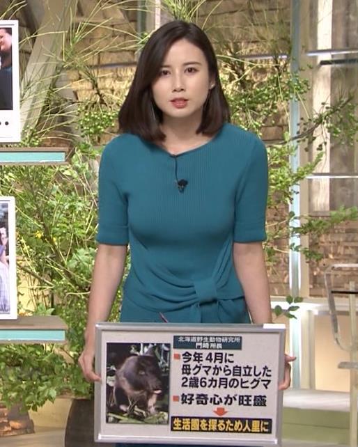 森川夕貴アナ おっぱいエロ過ぎキャプ・エロ画像2