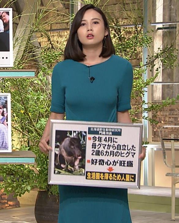 森川夕貴アナ おっぱいエロ過ぎキャプ・エロ画像4