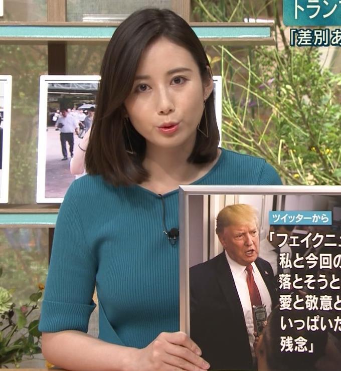森川夕貴アナ おっぱいエロ過ぎキャプ・エロ画像5