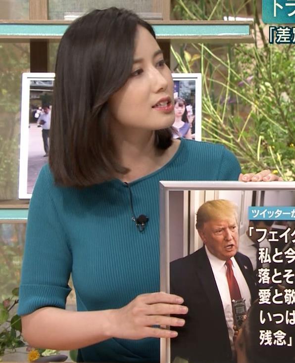 森川夕貴アナ おっぱいエロ過ぎキャプ・エロ画像6