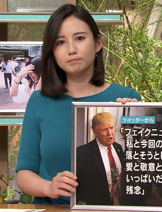 森川夕貴アナ おっぱいエロ過ぎキャプ・エロ画像9