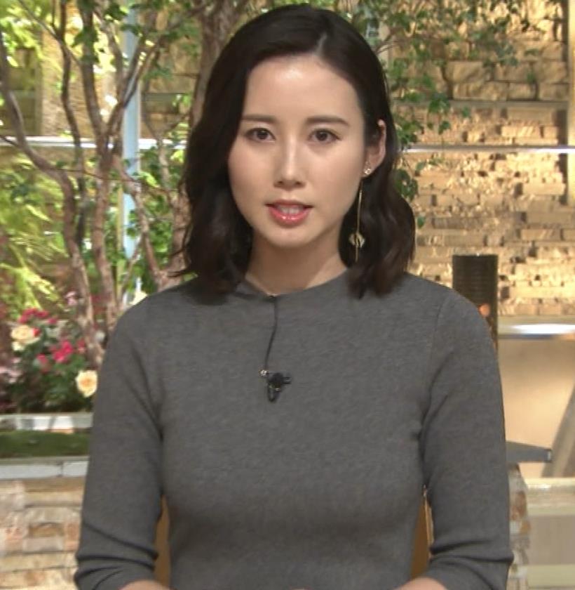 森川夕貴アナ 横乳がすごいことになってるキャプ・エロ画像