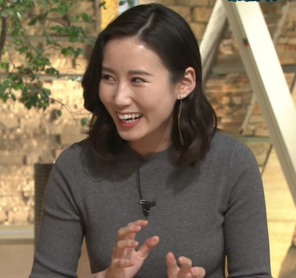 森川夕貴アナ 横乳がすごいことになってるキャプ・エロ画像2
