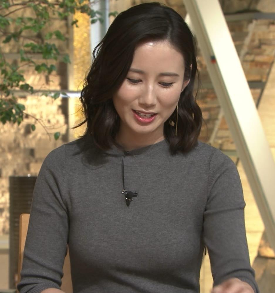 森川夕貴アナ 横乳がすごいことになってるキャプ・エロ画像4
