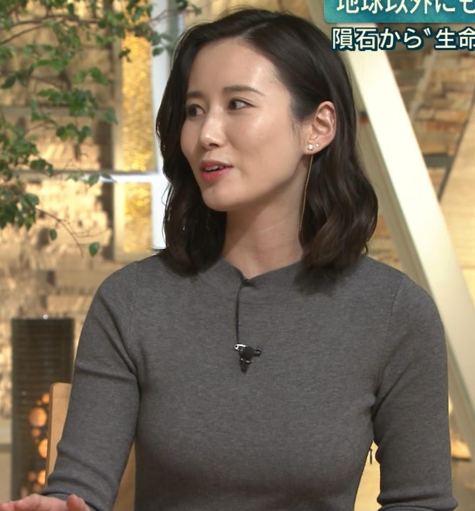 森川夕貴アナ 横乳がすごいことになってるキャプ・エロ画像6