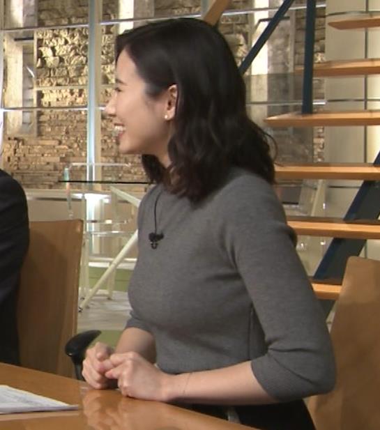 森川夕貴アナ 横乳がすごいことになってるキャプ・エロ画像9