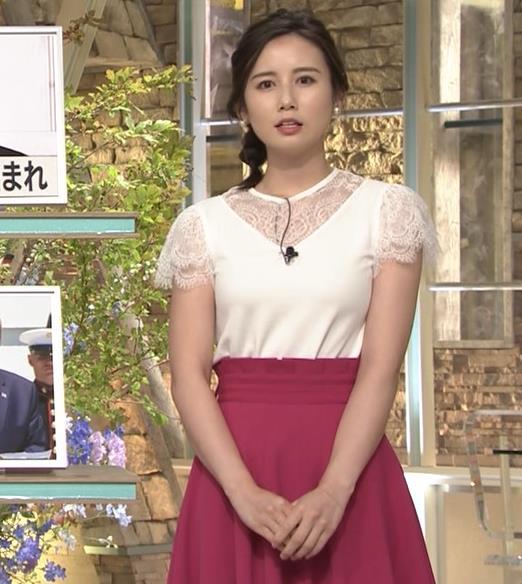 森川夕貴アナ これはまたエロいおっぱいキャプ・エロ画像