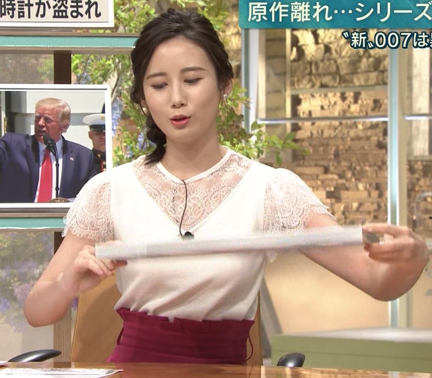 森川夕貴アナ これはまたエロいおっぱいキャプ・エロ画像9