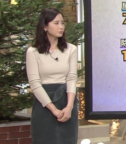 森川夕貴アナ 細身のニットおっぱい♡キャプ・エロ画像8