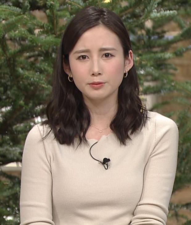 森川夕貴アナ 細身のニットおっぱい♡キャプ・エロ画像9