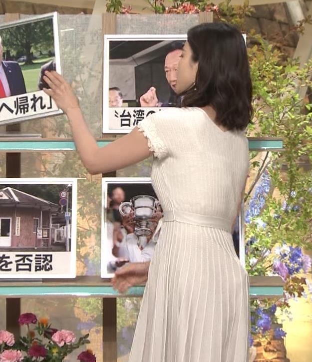 森川夕貴アナ 横乳が際立つキャプ・エロ画像2