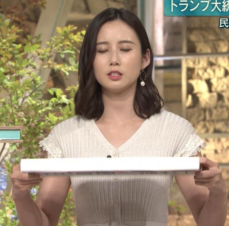 森川夕貴アナ 横乳が際立つキャプ・エロ画像5