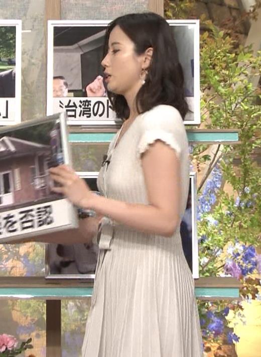森川夕貴アナ 横乳が際立つキャプ・エロ画像7