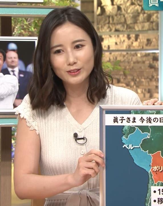 森川夕貴アナ 横乳が際立つキャプ・エロ画像9