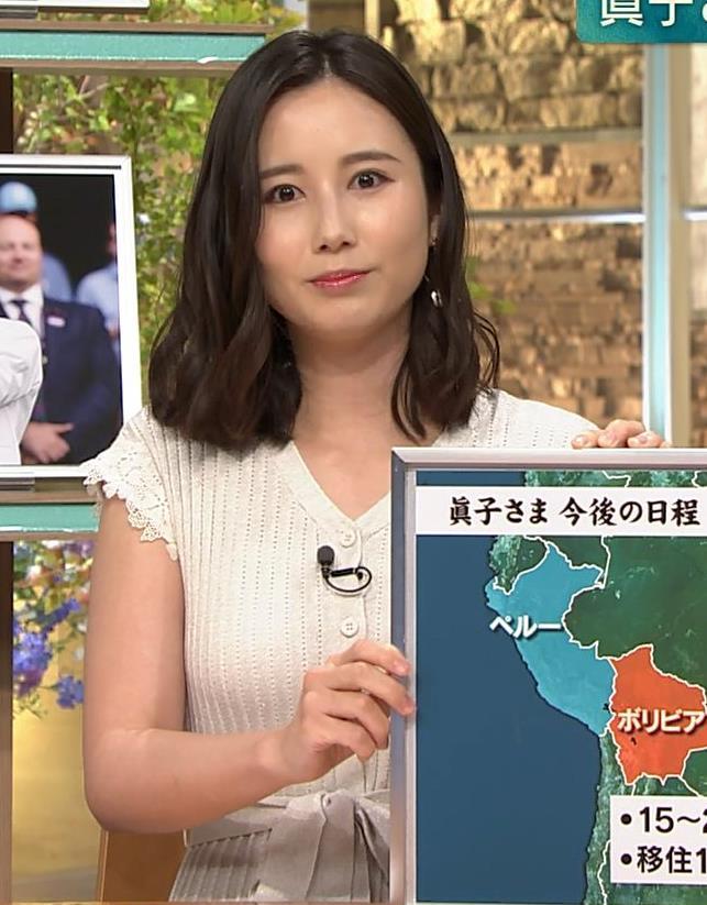 森川夕貴アナ 横乳が際立つキャプ・エロ画像10