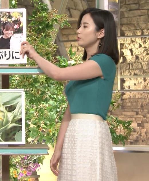 森川夕貴アナ またおっぱいがエロい服を着てるキャプ・エロ画像4