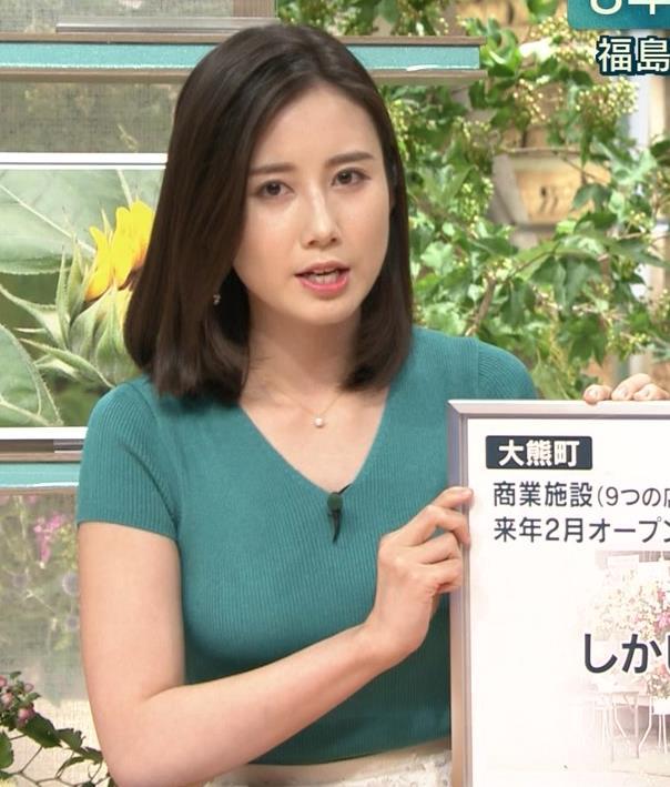 森川夕貴アナ またおっぱいがエロい服を着てるキャプ・エロ画像5