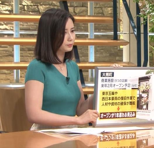 森川夕貴アナ またおっぱいがエロい服を着てるキャプ・エロ画像6