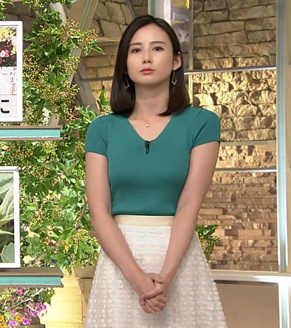 森川夕貴アナ またおっぱいがエロい服を着てるキャプ・エロ画像8