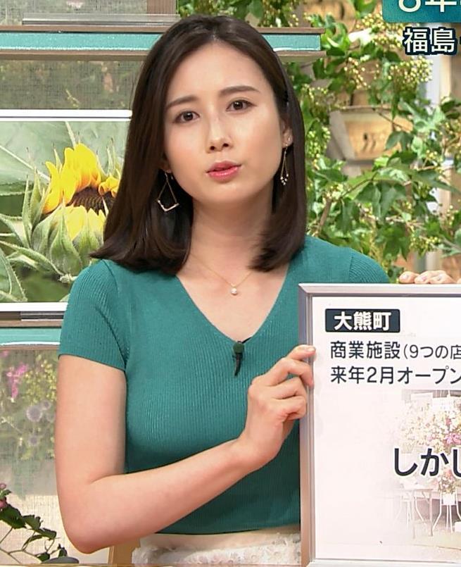 森川夕貴アナ またおっぱいがエロい服を着てるキャプ・エロ画像9