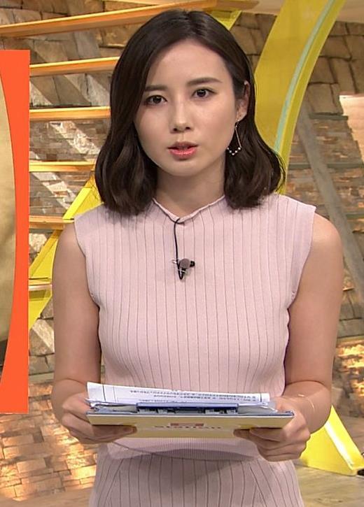 森川夕貴アナ このニットおっぱいがエロいキャプ画像(エロ・アイコラ画像)