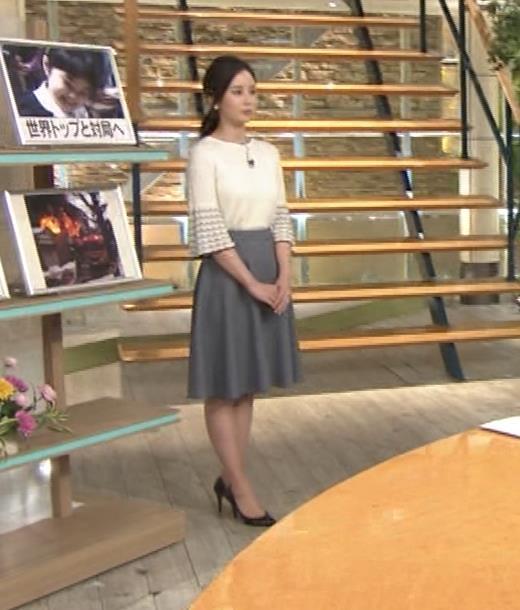 森川夕貴アナ 最近、巨乳キャラ化してるキャプ・エロ画像2