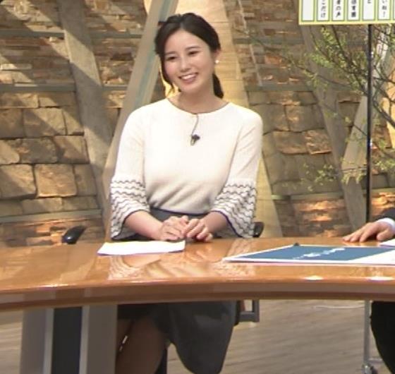 森川夕貴アナ 最近、巨乳キャラ化してるキャプ・エロ画像11