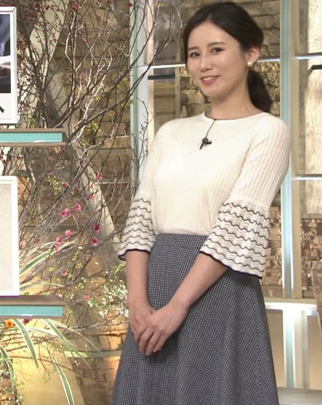 森川夕貴アナ 最近、巨乳キャラ化してるキャプ・エロ画像3