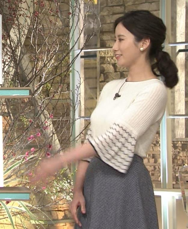 森川夕貴アナ 最近、巨乳キャラ化してるキャプ・エロ画像4
