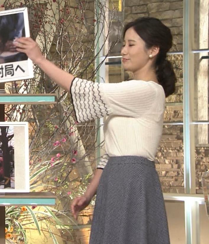 森川夕貴アナ 最近、巨乳キャラ化してるキャプ・エロ画像5