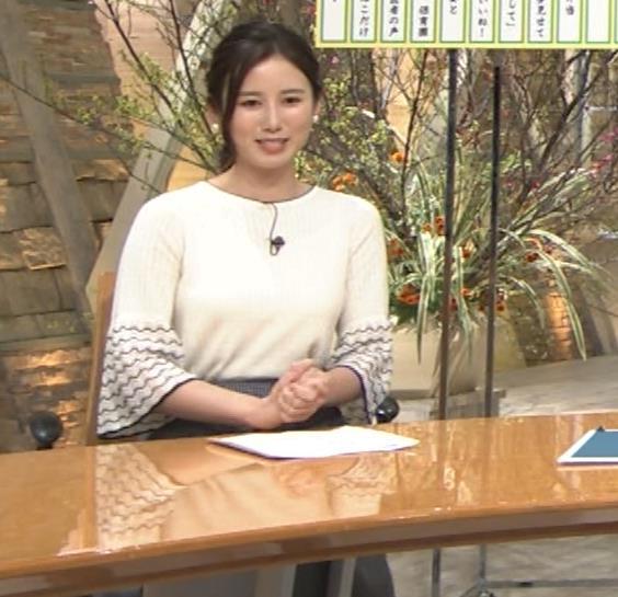 森川夕貴アナ 最近、巨乳キャラ化してるキャプ・エロ画像9