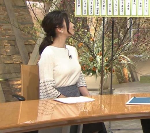 森川夕貴アナ 最近、巨乳キャラ化してるキャプ画像(エロ・アイコラ画像)