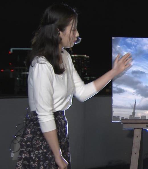 森川夕貴アナ エロい横乳キャプ画像(エロ・アイコラ画像)