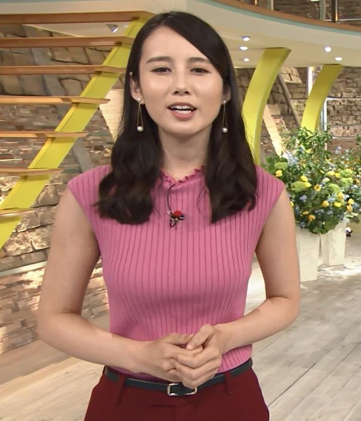 森川夕貴アナ ニット横乳が巨乳化しててエロ過ぎキャプ・エロ画像3