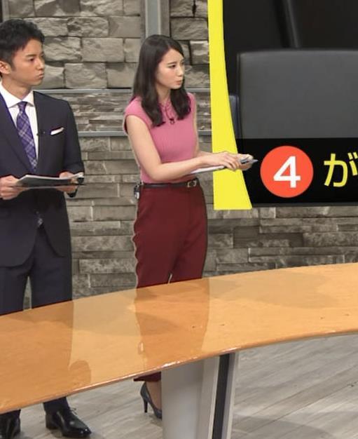 森川夕貴アナ ニット横乳が巨乳化しててエロ過ぎキャプ・エロ画像10