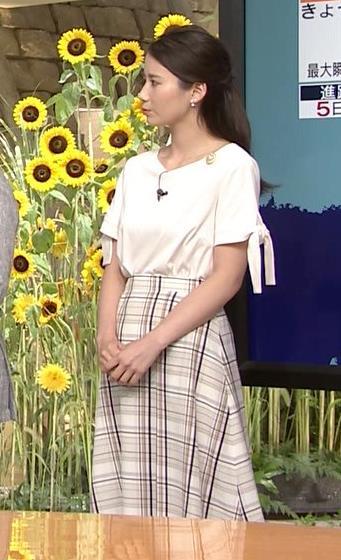 森川夕貴アナ 前かがみで胸元がチラリ!キャプ・エロ画像8