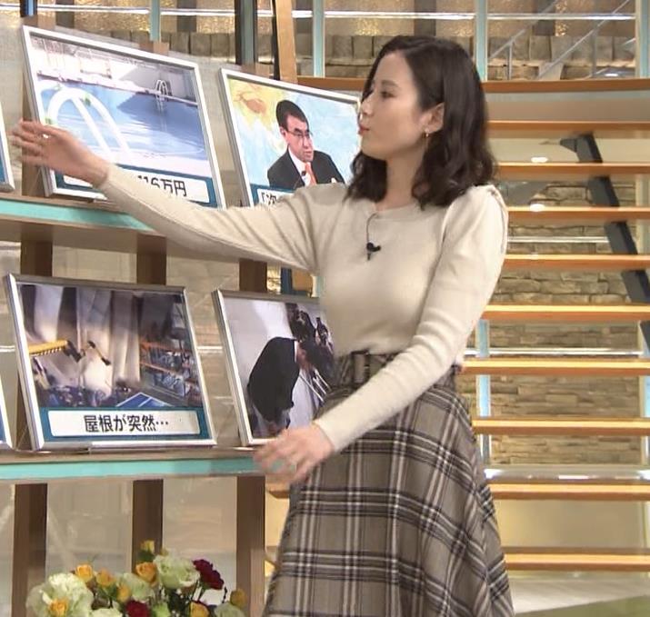 森川夕貴アナ 最近本当におっぱいがエロいキャプ・エロ画像9