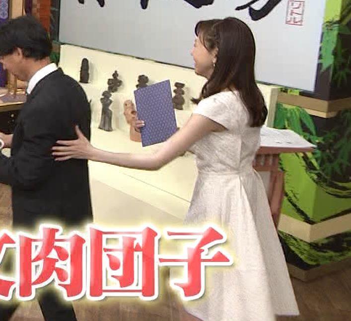 森本智子アナ セクシーな横乳キャプ・エロ画像11