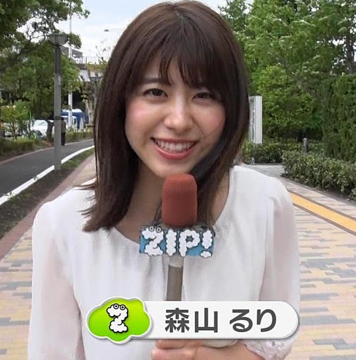 森山るりアナ 透けシャツキャプ・エロ画像3