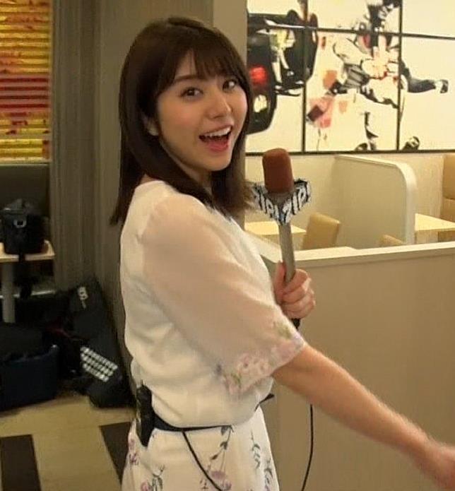 森山るりアナ 透けシャツキャプ・エロ画像4
