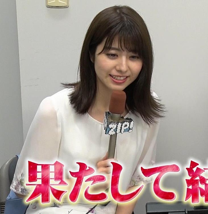 森山るりアナ 透けシャツキャプ・エロ画像7